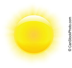 soleil, photorealistic