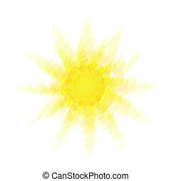 soleil, résumé, chaud