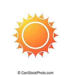 soleil, silhouette