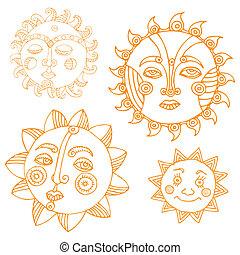 soleil, variations