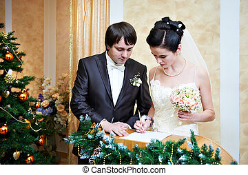 Solemn registration of marriage