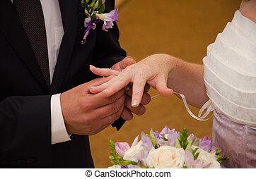 solenne, cerimonia, momento