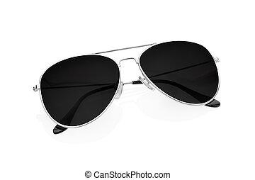 solglasögon, vita