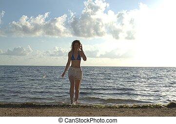 solidão, praia