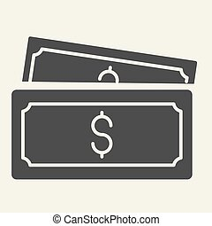 solid icon. vector illustration isolated on white. Money glyph style design, designed for web and app. Eps 10.