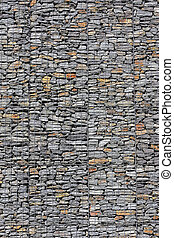Solid Mesh stone wall 4