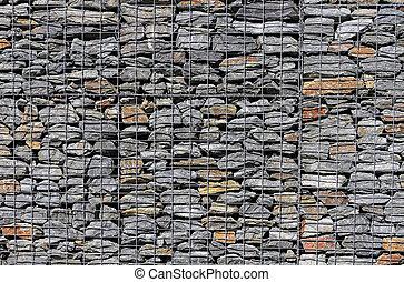 Solid Mesh stone wall5 - Gabion Retaining Wall Blocks with...