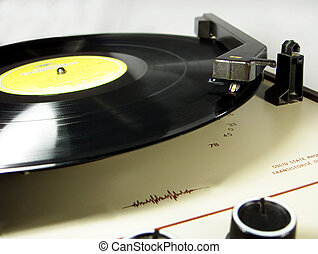 Solid State LP - A retro solid state LP, record player