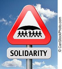 solidarity social security internatioanl community and ...