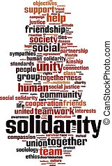 Solidarity-vertical [Converted].eps - Solidarity word cloud ...