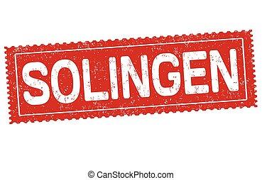 Solingen sign or stamp