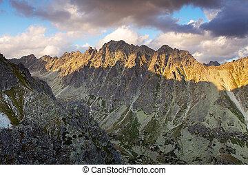 Solisko peak in Slovakia