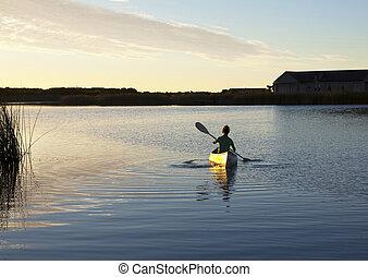solitário, canoest