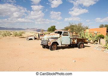 solitär, namibia