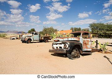 solitario, namibia