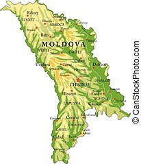 sollievo, moldova, mappa