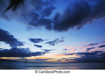 solnedgang ocean