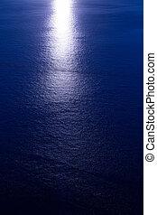 solnedgang, solopgang, hen, middelhavet hav