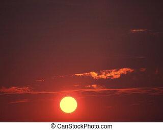 solnedgange