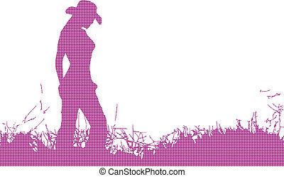 solo, cowgirl