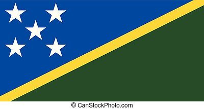 Solomon Islands Flag - Flag of the Solomon Islands