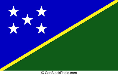 Solomon-Islands  - Solomon Islands flag