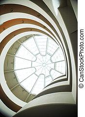 Solomon R  Guggenheim Museum interior