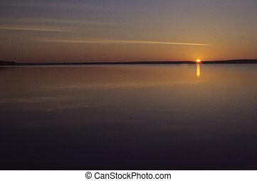 solstice, été, aube