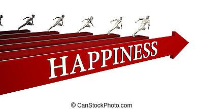 soluções, felicidade