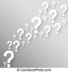 soluções, pergunta