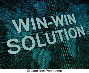 solución, win-win