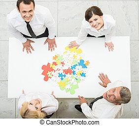 soluciones, empresa / negocio