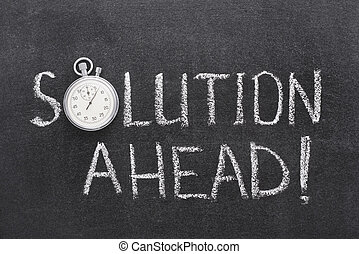 solution ahead watch