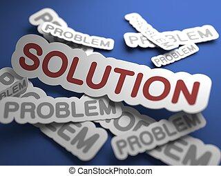Solution. Business Concept.