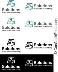 Solution business logos