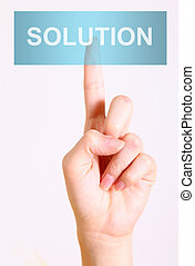 Solution button
