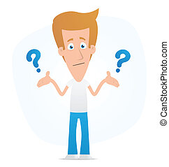 solution - Illustration of a cartoon cute character for use...