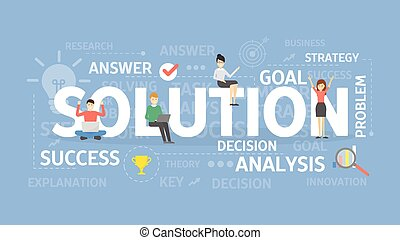 Solution concept illustration.