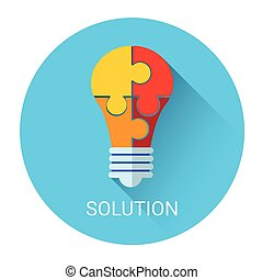 Solution Concept Success Strategy Business Icon