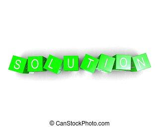 solution cubes