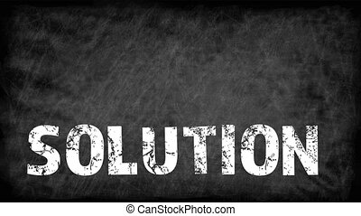 SOLUTION. Data download concept. Text and information on the...