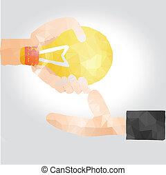 solution idea concept