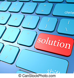 Solution keyboard