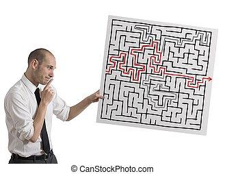 solution, pour, les, labyrinthe