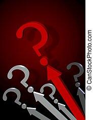 solution., símbolo, aquilo, procurar