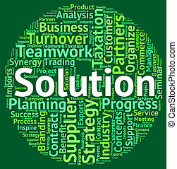 Solution Word Means Successful Succeed And Wordclouds