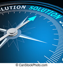 Solution word on compass