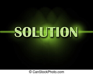 Solution Word Shows Resolve Resolution Solving And Solved