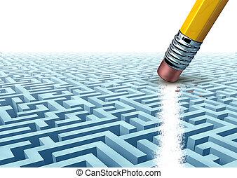 solutions, business, créatif