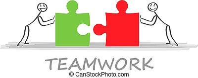 Solutions. Business team and partner working together background. Concept business business vector illustration.